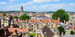 Oxford city rooftops  Arena Photo UK
